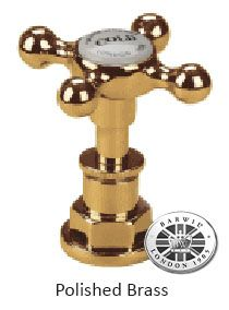 Barber Wilsons Polished Brass Tap Finish