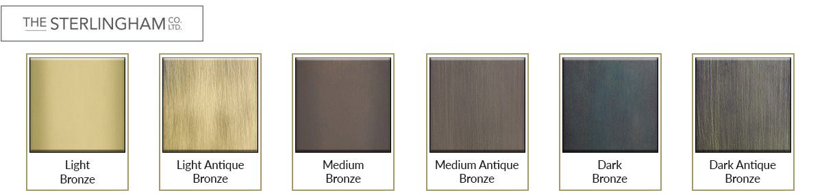 Sterlingham Bathroom Accessories Bronze Finishes